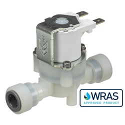 "3/8"" push-fit connections, solenoid valve 2-way normally closed,  240V AC"