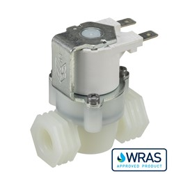 "1/4"" BSP female connections, 2-way normally closed solenoid valve, 240V AC"