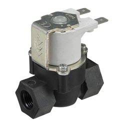 "1/4"" BSP female connections, 2-way normally closed solenoid valve, 12VDC"