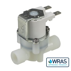 "3/8"" BSP male connections, 2-way normally closed solenoid valve, 240V AC"
