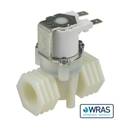 "1/2"" BSP female connections, 2-way normally closed solenoid valve, 240V AC"