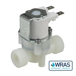 "1/2"" BSP male connections, 2-way normally closed solenoid valve, 230V"