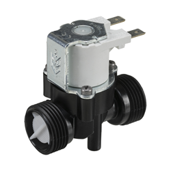"3/4"" BSP male connections, 2-way normally closed solenoid valve, 240V AC"