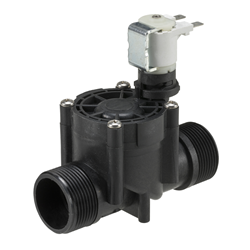 "3/4"" BSP female, irrigation solenoid valve, 2-way latching, 9V DC"