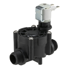 "3/4"" BSP male, irrigation solenoid valve, normally closed, 12V AC"