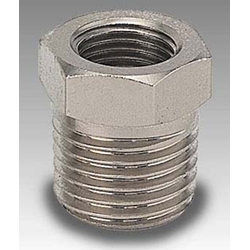 "Conical Reducer 1/4 "" Male x 1/8"" Female"