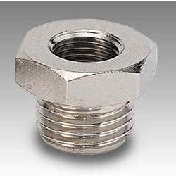 "Parallel Reducer 1/2"" Male x 1/4"" Female"