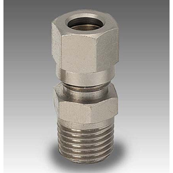 "Male Stud 1/8"" BSP x 6mm Nut & Olive"