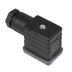 DIN IP65 Electrical connector – DIN 46244 (DIN 43650) Form B with Pg9 gland for cables sizes 6-8mm.
