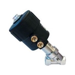 "1½"" G (BSP) 2 way normally closed angle seat valve pneumatically operated 0-8 bar"