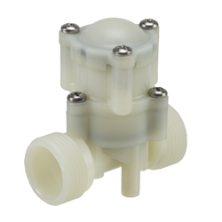 "Water pressure regulator - 2 bar outlet 1/2""BSP inlet and outlet."