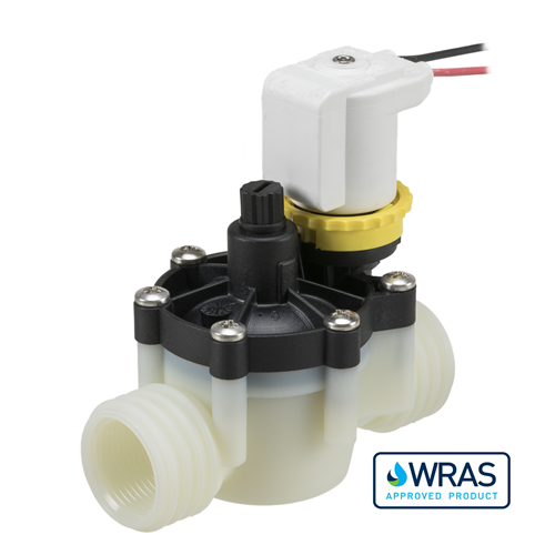"3//8/"" DC 12V OD 12mm Plastic Electric Solenoid Valve Water Inlet and Outlet Switch Normally Closed"